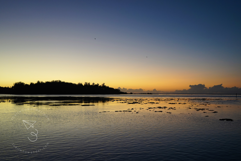 Spectacular Sunset Beach, Moorea Tahiti – to all who wander